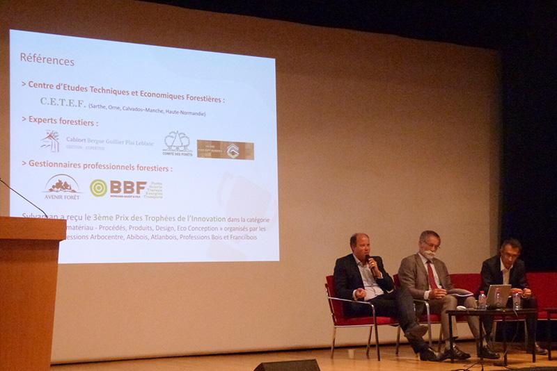 Sylvamap présente son innovation devant «le premier parti écologique de France»