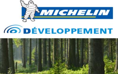 Michelin Développement octroie 32 000 euros à Sylvamap pour accroître ses effectifs