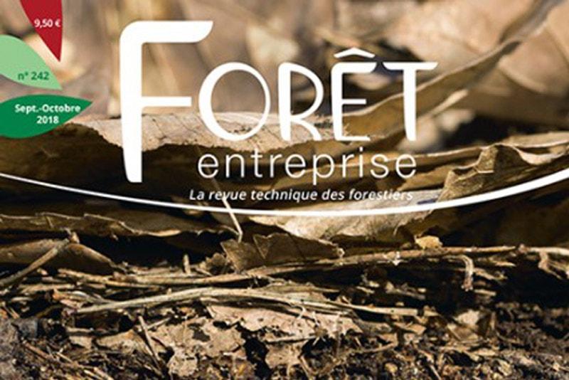 Les Gieef et le numérique : Forêt-entreprise parle de Sylvamap