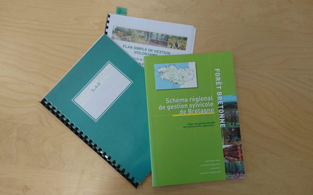 Les éléments obligatoires d'un Plan Simple de Gestion forestier