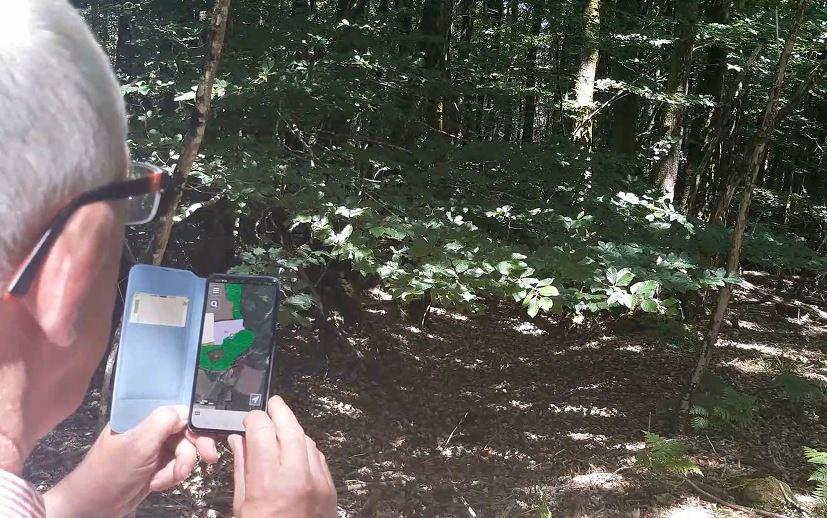 La mobilité informatique en forêt